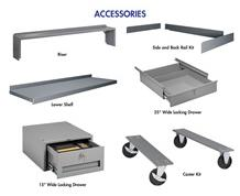 HEAVY-DUTY INDUSTRIAL WORKBENCH ACCESSORIES